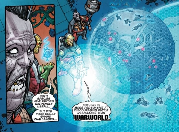 DC Comics to Publish a New WarWorld Comic