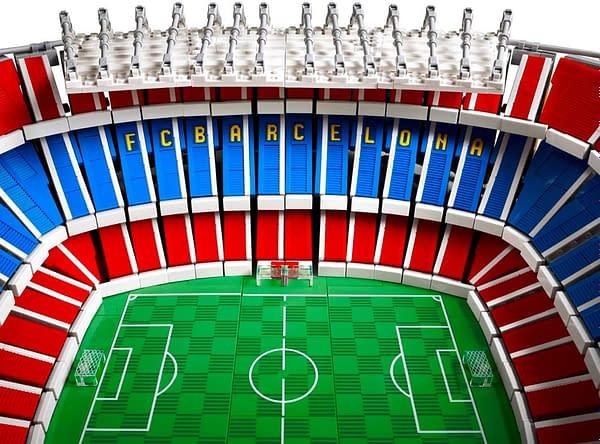 LEGO Reveals Incredible FC Barcelona Camp Nou Stadium Set