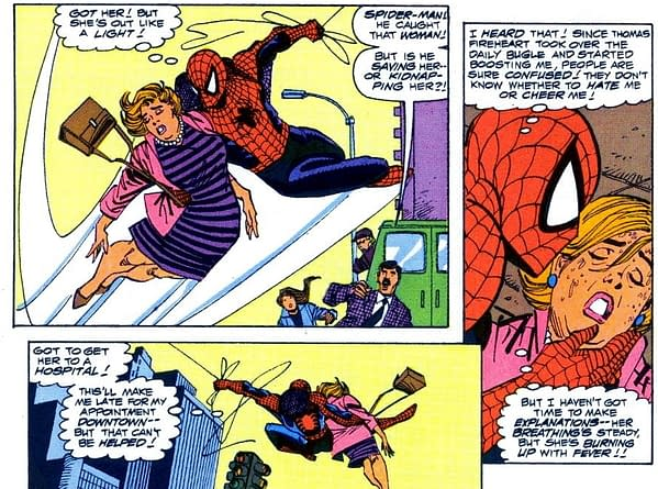 When Spider-Man Fought the Corona Fever