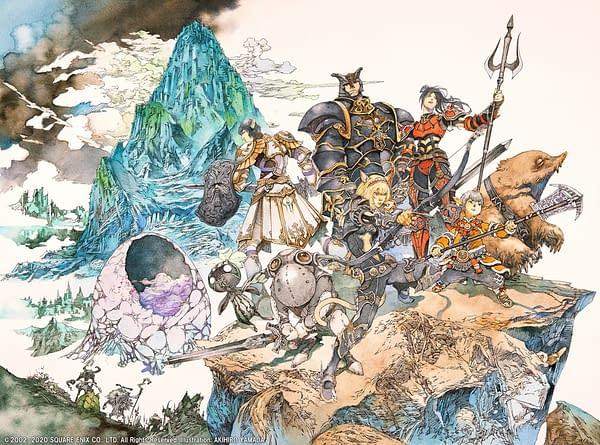 Artwork for The Voracious Resurgence in Final Fantasy XI, courtesy of Square Enix.