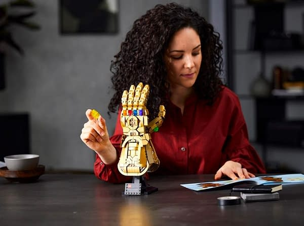 Build The Infinity Gauntlet With LEGO's Newest Replica Marvel Set