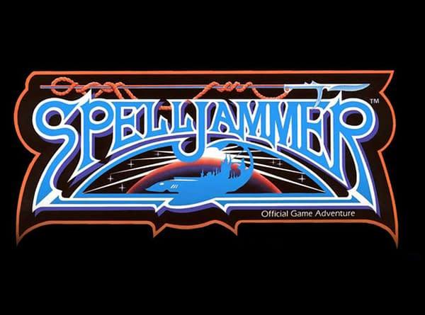 The original Spelljammer logo from D&D, courtesy of TSR/WotC.