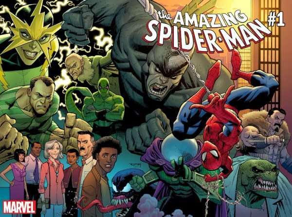 Marvel Comics Confirms Nick Spencer and Ryan Ottley on Amazing Spider-Man #1