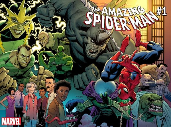 Spider-Man, Venom, and Man of Steel Top Advance Reorders