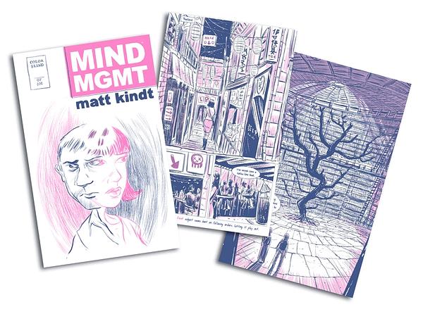 Matt Kindt Creates Jack Chick Tract for Mind MGMT Kickstarter
