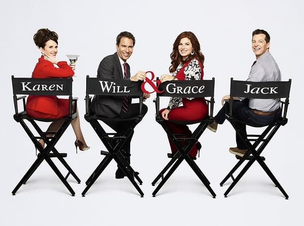 'Will & Grace' Gains Matt Bomer, Adam Rippon, and Minnie Driver