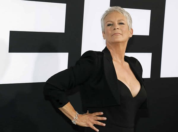 Horror Queen Jamie Lee Curtis Teases Rian Johnson's 'Knives Out' [CinemaCon]