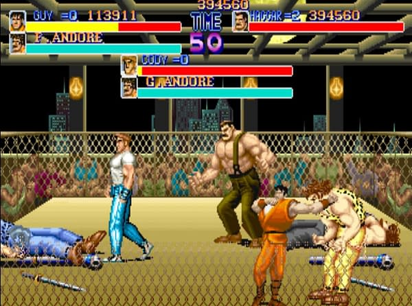 Someone Made a 30th Anniversary Final Fight Mod for Three Players