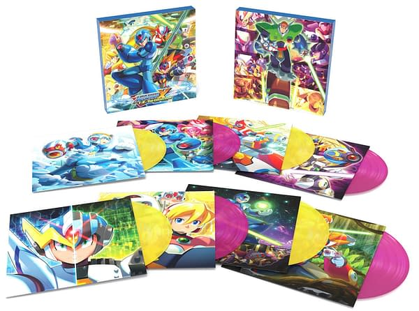 A look at the complete package of the Mega Man X vinyl soundtrack, courtesy of Laced Records.