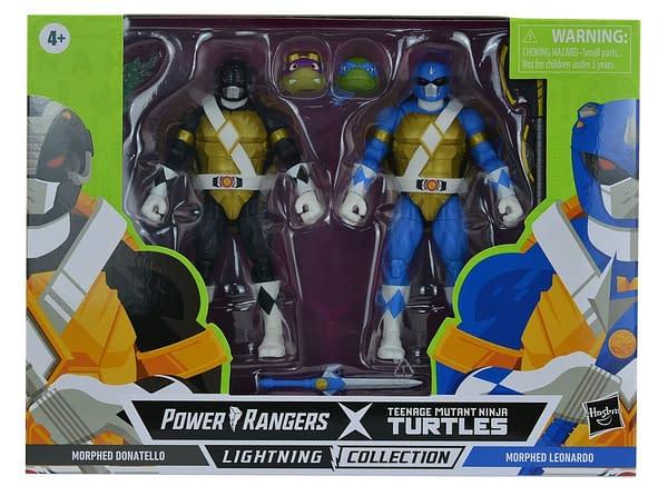 Hasbro Reveals First TMNT x Power Rangers Crossover Figures