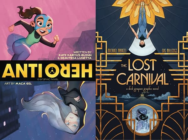 DC Comics Posts PR Plans With 'BookTubers' For YA Graphic Novels Lost Carnival: Dick Grayson and Anti/Hero