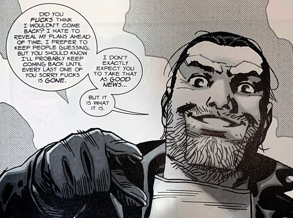 "Negan Lives in Today's The Walking Dead Comic About ""The New Normal"""
