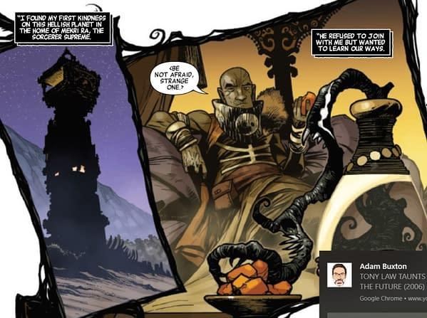 Doctor Strange, Asgardian God Vs Donald Blake - And Knull