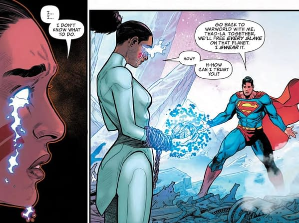 Superman Cancelled From Justice League Over His Politics (Spoilers)