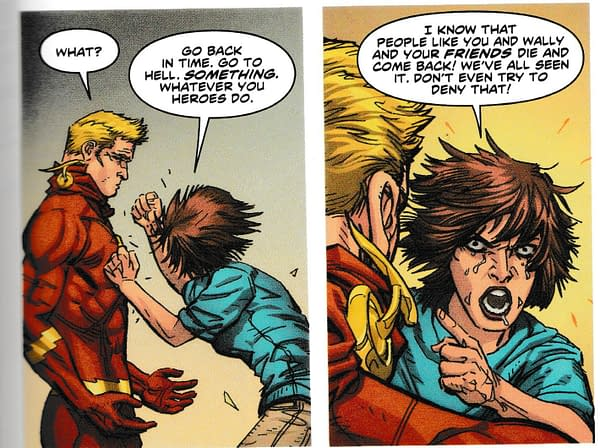 Why Would Anyone Believe Wally West is Really Dead in Flash Annual #2 (Spoilers)