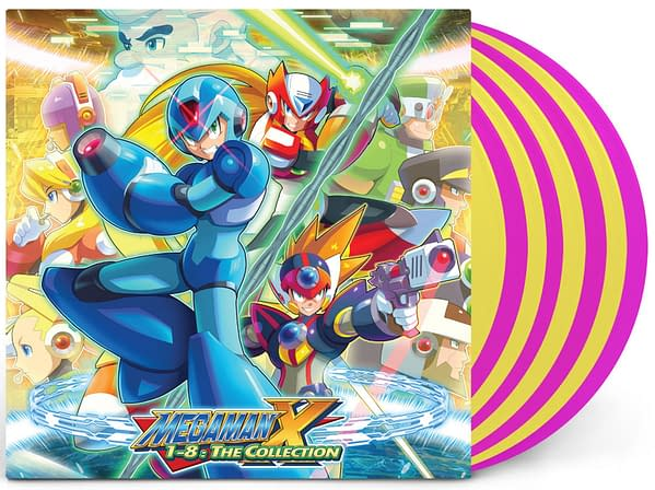 A look at the cover of the Mega Man X vinyl soundtrack, courtesy of Laced Records.