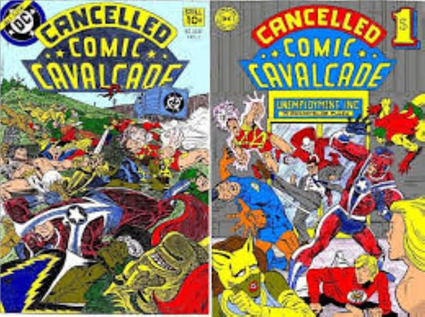 Cancelled Comic Cavalcade Covers