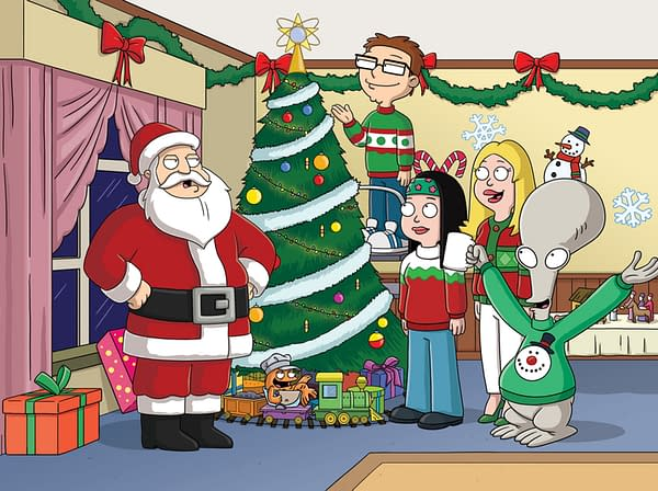 American Dad Gets Festive With A Marathon And New Holiday Episode
