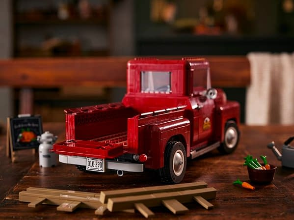 Travel Back To the 1950s With LEGO's New Pickup Truck Set