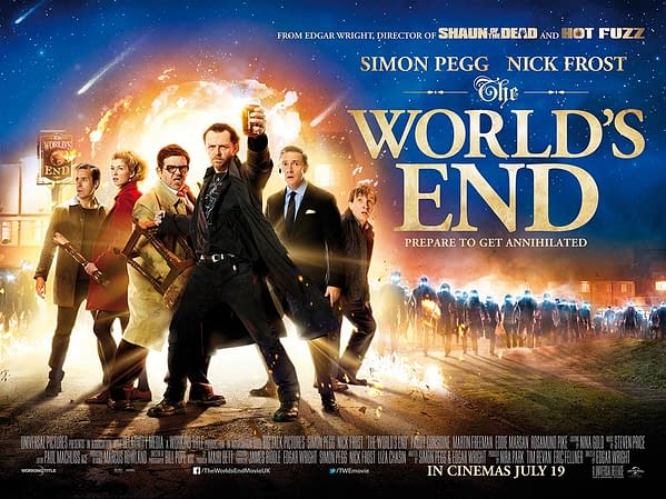 world's end beer poster