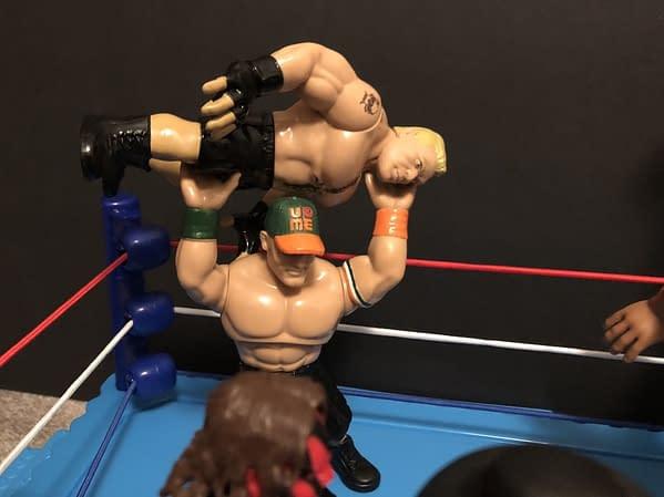 Mattel WWE Retro RIng 8