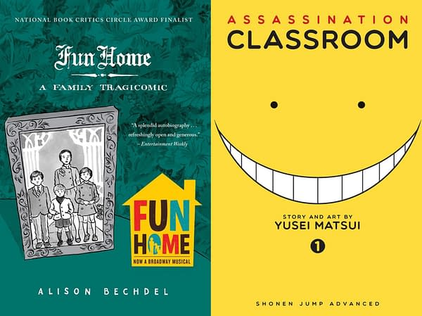 Fun Home and Assassination Class Removed From High School Libraries