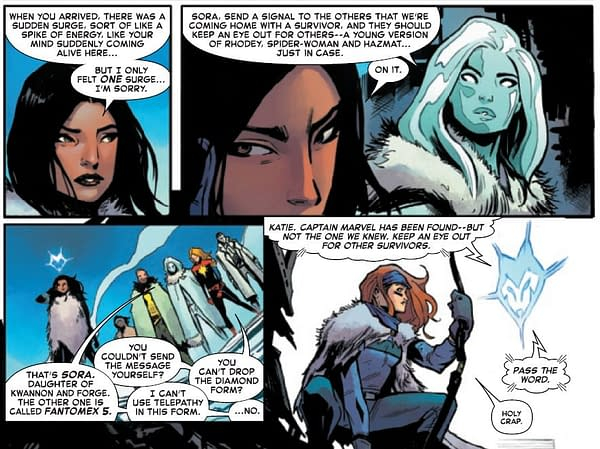 Callings, Clones and Otherworld In Today's X Of Swords (Spoilers)
