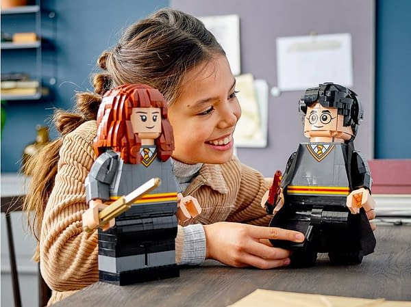 LEGO Celebrates 20 Years of Harry Potter With New Character Sets