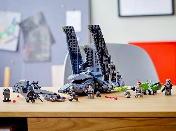 LEGO Deploys The Bad Batch As Their Newest Star Wars Set