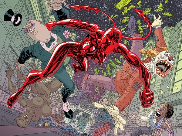 Erik Larsen Launches New Ongoing Ant Comic From August