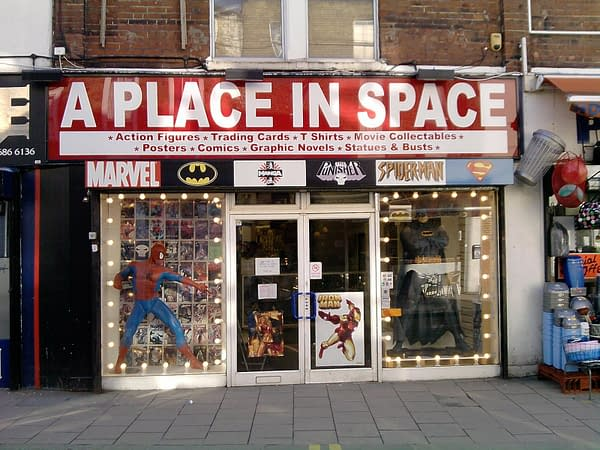 A Place In Space In Croydon Still Standing, Opening Again