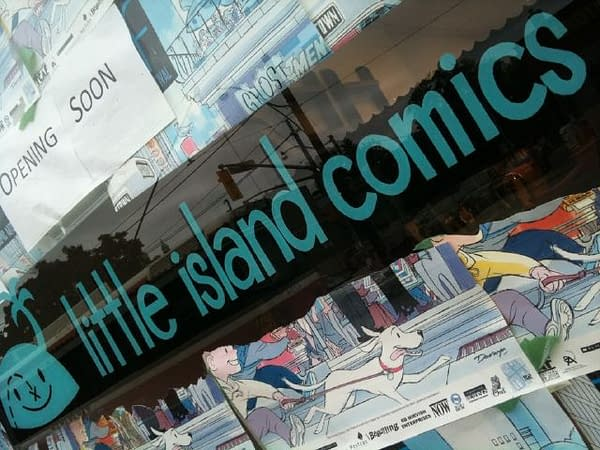 The Beguiling To Open A Comic Shop, You Know, For Kids