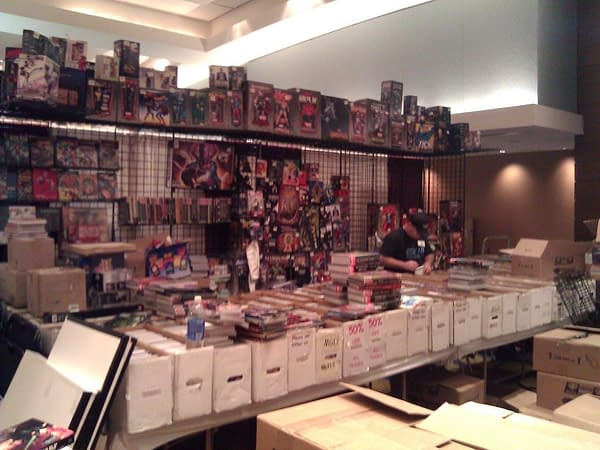 Inside The Exhibitors Room At Dragon*Con