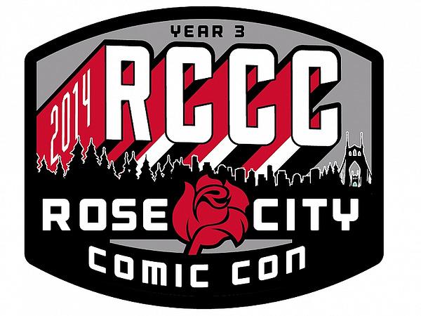 Rose City Comic Con Patch
