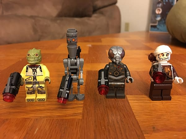 LEGO Star Wars Summer Sets Have Started To Hit Stores, Here Is A Look At The Bounty Hunter Battle Pack