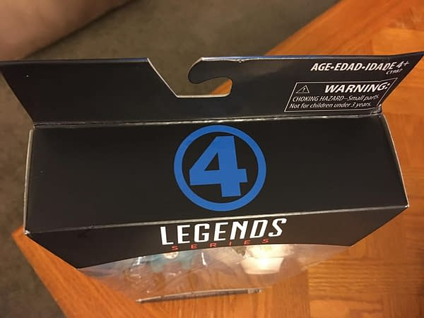 Fantastic Four Is Back! In Figure Form, From Hasbro, With Their New Sue Storm Figure