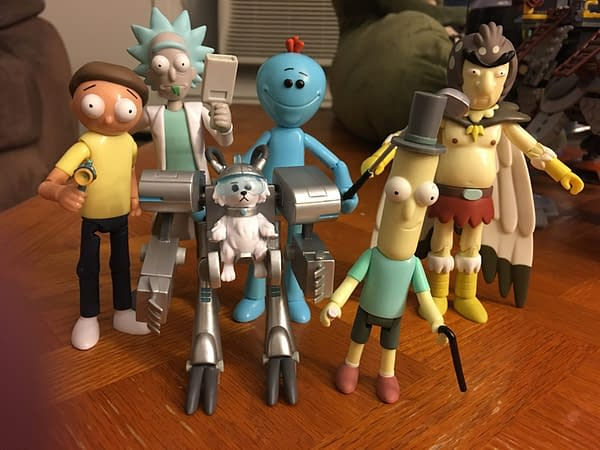 Funko Rick and Morty Figures 1