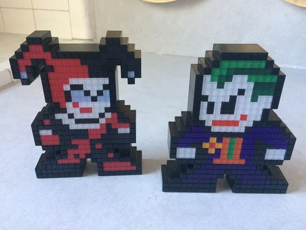 Exploring More Pixel Pals With The Joker & Harley Quinn