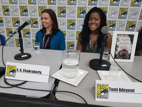 SDCC World Mythology In Contemporary Fantasy Panel: Building Worlds And Gunplay