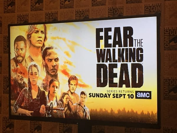 Magic Telephones And Fear The Walking Dead At SDCC