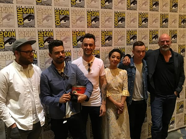 Treating Hitler Like Any Other Character: The Preacher Press Room At San Diego Comic-Con