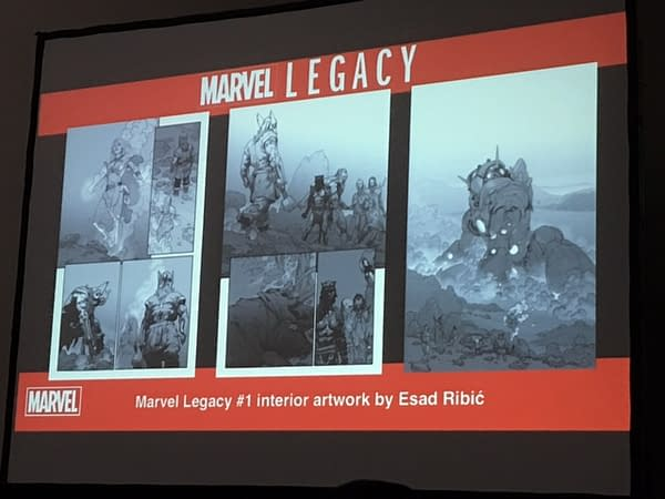 Your First Look At Marvel Legacy #1 From San Diego Comic-Con