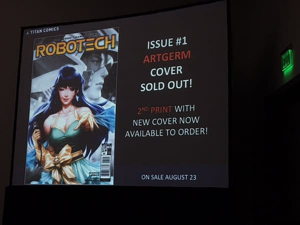 Robotech #1 May Ship Early, And More From Titan Comics' SDCC Presentation