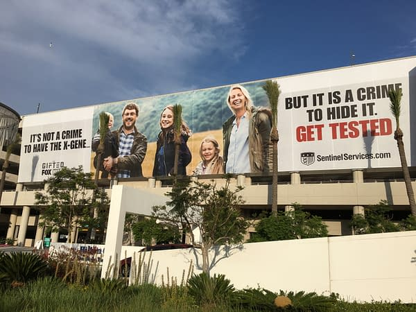 San Diego Hotels Covered In Ads For Fox's Gifted, Ahead Of Comic-Con