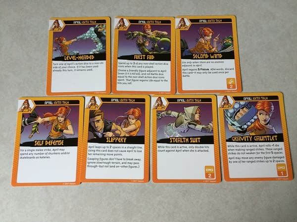 Looking Over The April O'Neil Expansion Pack For 'Shadows Of The Past'