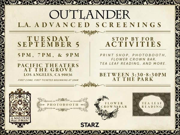 Want To See The Outlander Season 3 Premiere Early?