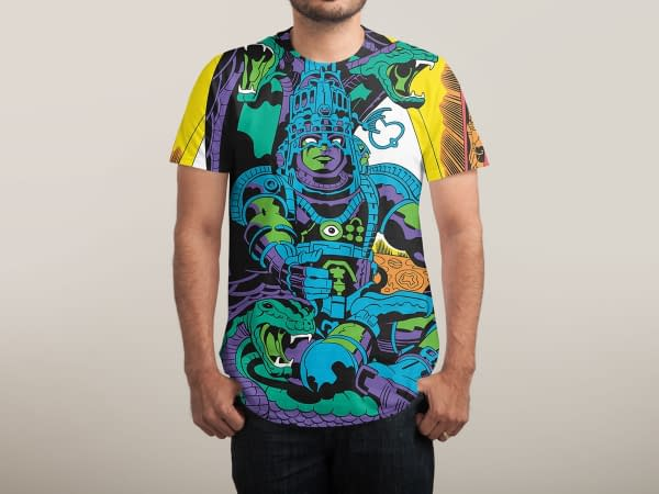 Jack Kirby's Lords Of Light Now On Threadless Shirts