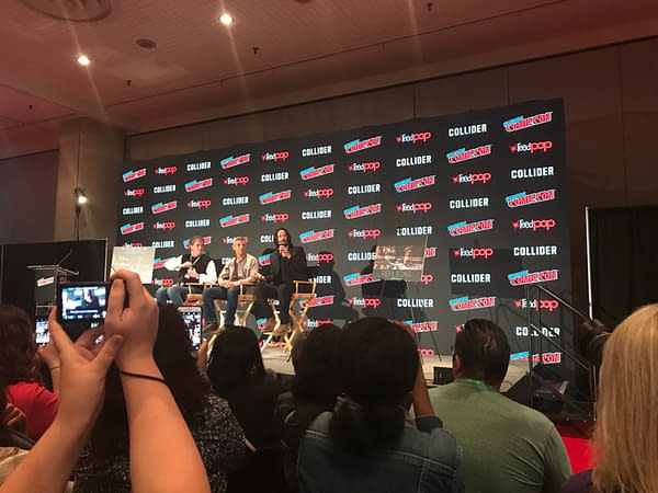 Keanu Reeves talks the Matrix, Bill and Ted and Replicas at NYCC