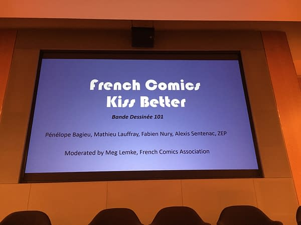 French Comics Are Introduced At NYCC