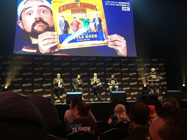 The Hearts Of The Comic Book Men At NYCC